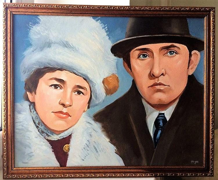 заказать семейный портрет маслом