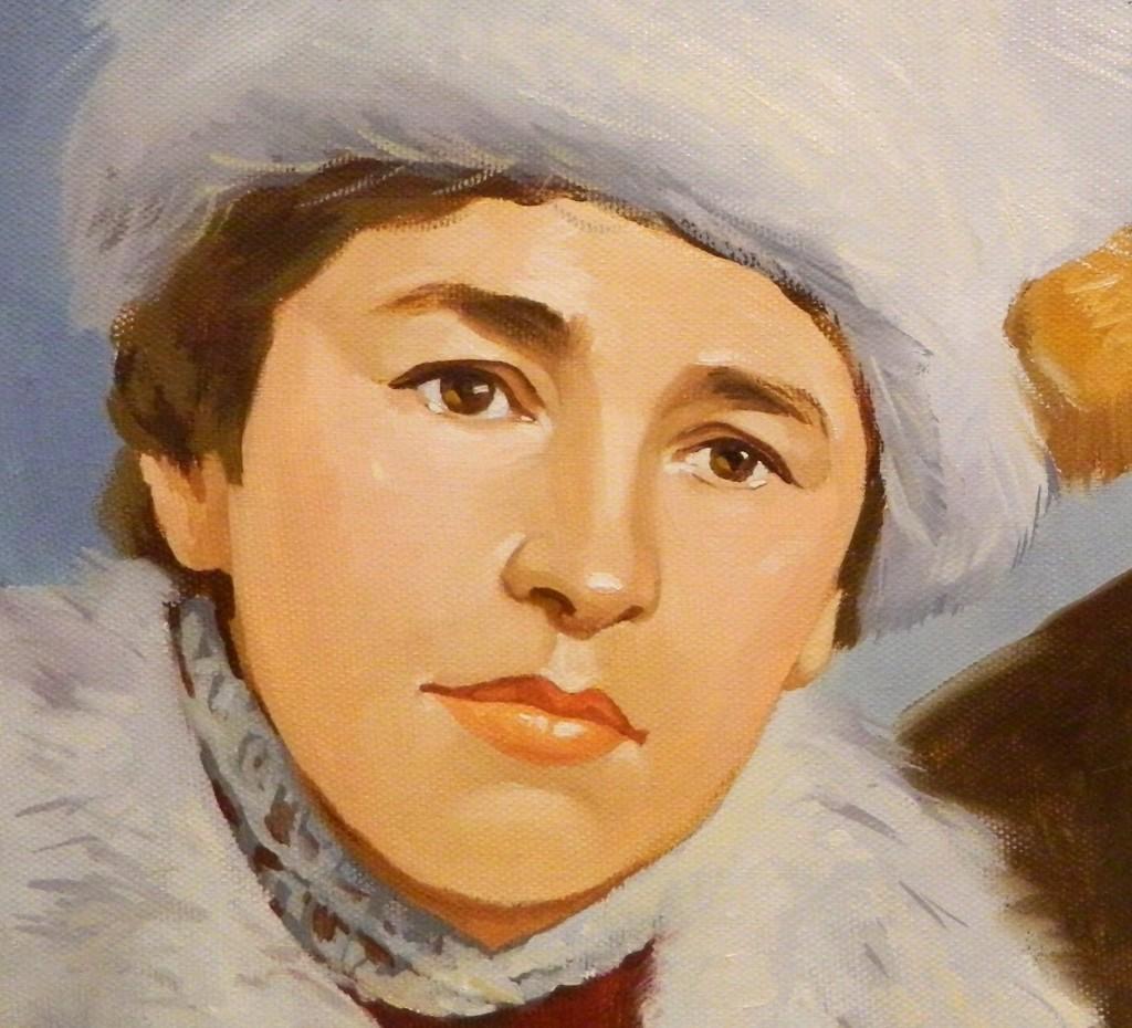 портрет маслом со старой фотографии