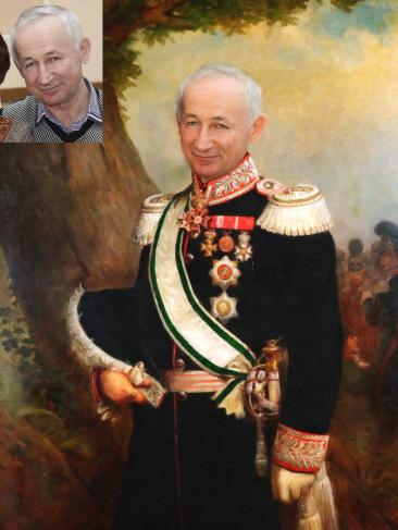 Где заказать исторический портрет по фото на холсте в Екатеринбурге?