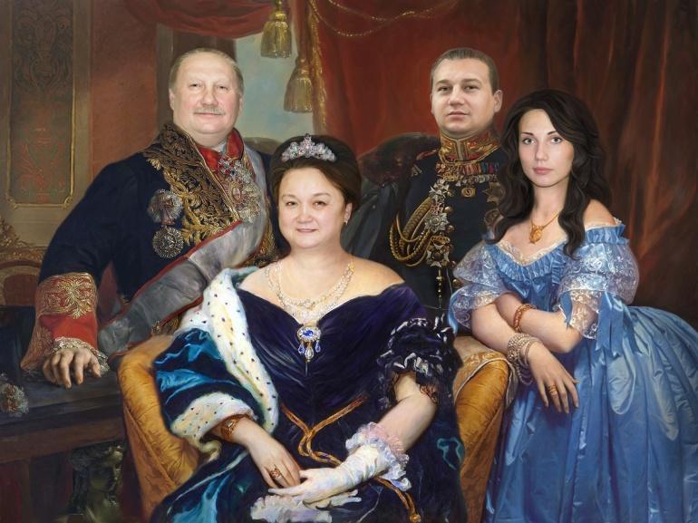 Ваша семейная картина на холсте…