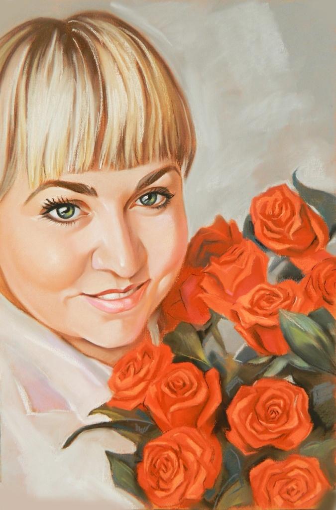 где в екатеринбурге можно заказать портрет пастелью