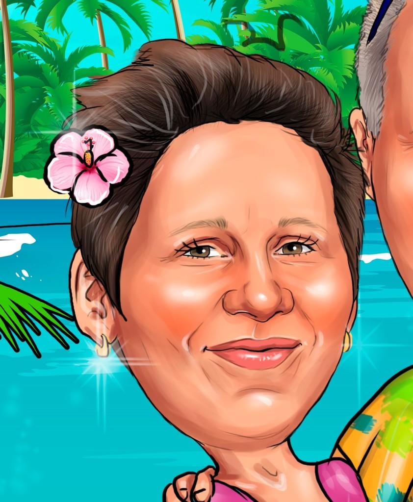 заказать карикатуру на годовщину свадьбы