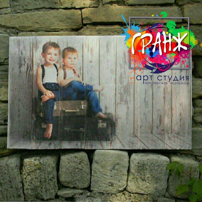 Картины на досках и портреты на дереве в стиле лофт Екатеринбург