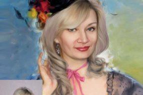 Заказать арт портрет по фото на холсте в Екатеринбурге