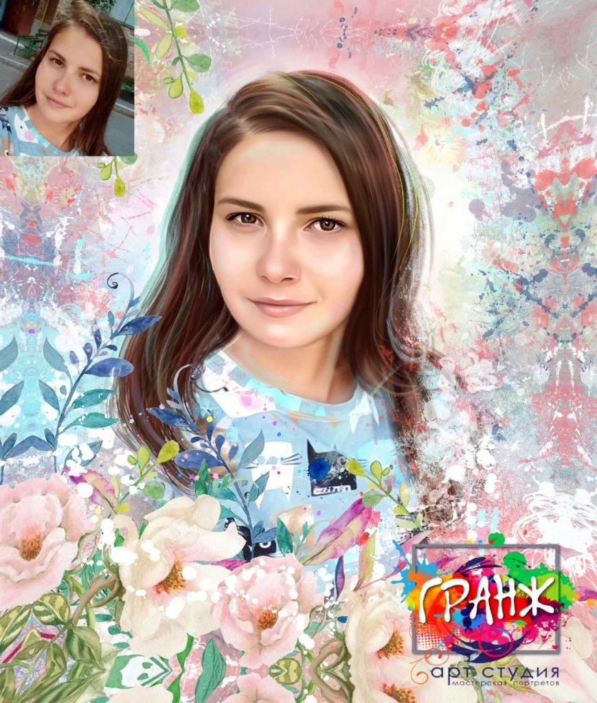 Заказать портрет в стиле Dream Art