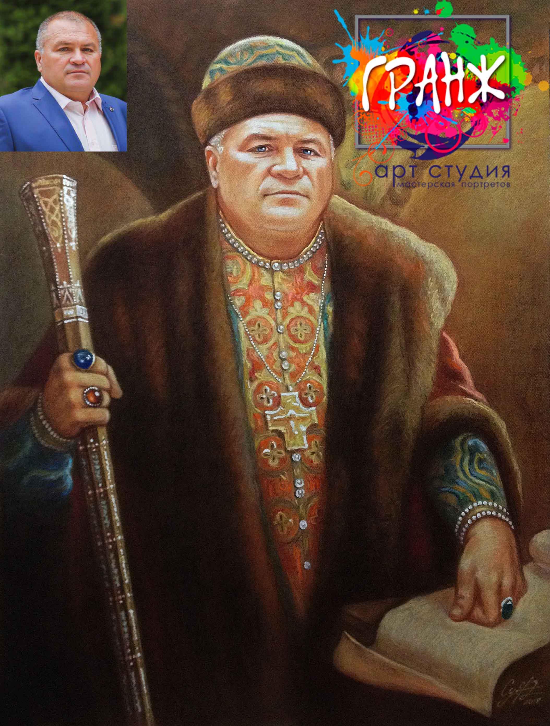 Заказать портрет маслом по фотографии в Екатеринбурге